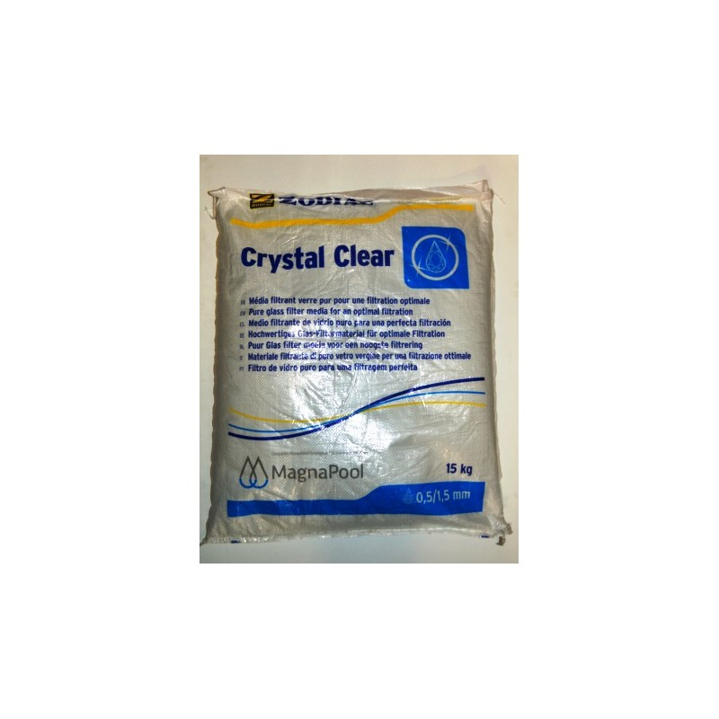 Medio filtrante Crystal Clear de Zodiac