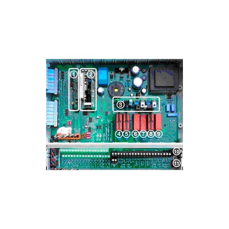 Placa electrónica base analyt/PM Analyt Poolmanager PM4 de Bayrol