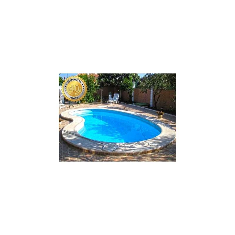 Piscina de fibra poli ster delta 6 multiforma for Multiforma piscinas