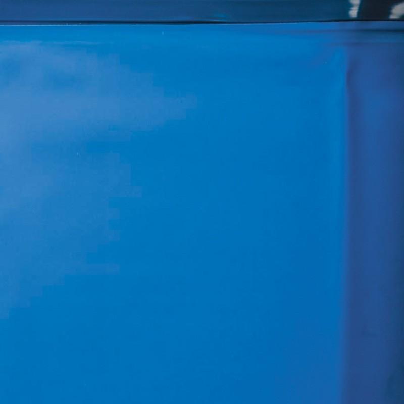 Liner Azul piscina Gre ovalada 40/100 - Altura 120 - Sistema colgante
