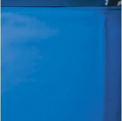 Liner Azul piscina Gre redonda 30/100 - Altura 90 - Sistema colgante