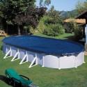 Cubierta de invierno para piscinas Gre ovaladas