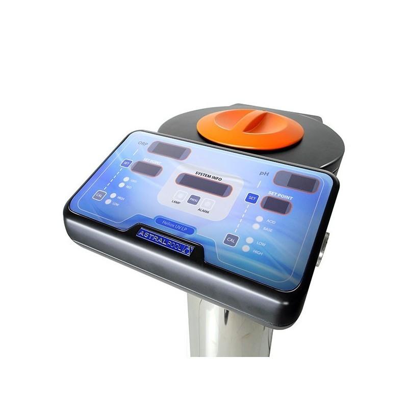 Heliox UV LP Inox para Piscina Residencial