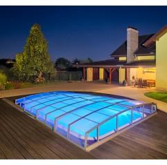 Cubierta piscina Albixon Casablanca Infinity