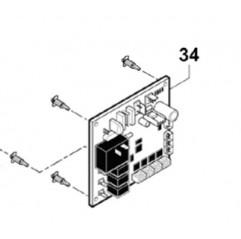 Carta electrónica de regulación versión Easy Connect bomba de calor Zodiac Z200