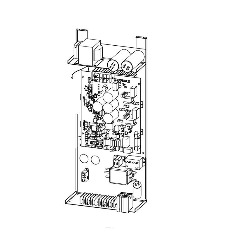 Conjunto eléctrico completo sin display MD5 Bomba de calor Zodiac ZS500.