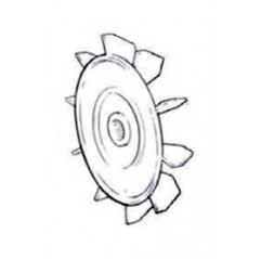 Ventilador 50-75-100 Bomba de piscina Zodiac Redflo