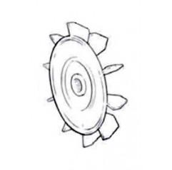 Ventilador 150-200-300 Bomba de piscina Zodiac Redflo