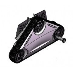 Cassette lado motor tracción CYCLONX RAL9022 Limpiafondos Zodiac RC4300 / RC4400