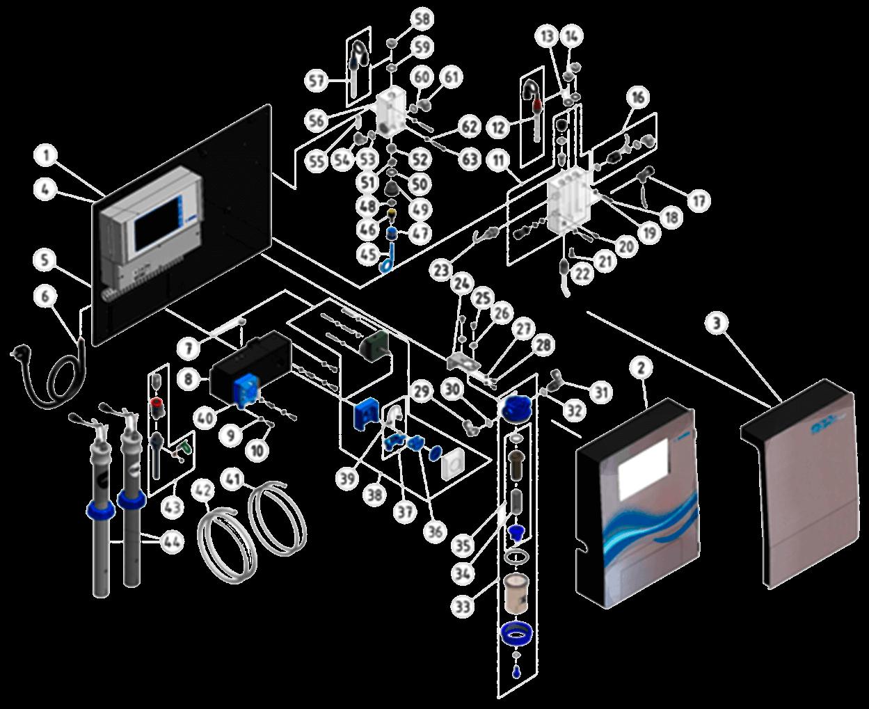 Recambios Analyt Pool Manager PM5 Bayrol