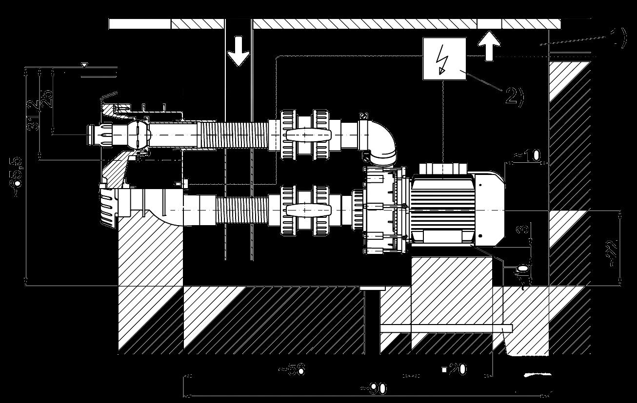 Dimensiones Badu Jet Universal