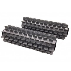 Kit cepillos PVC (Pack 2 uds.) para limpiafondos Zodiac RC4300 / RC4400