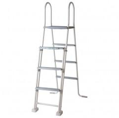 Escalera de tijera para piscinas elevadas de 120 y 130 cm ET1213