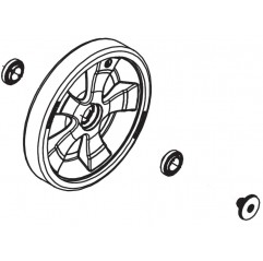 Rueda completa con neumáticos R0836900 lipmiafondos Polaris Quattro