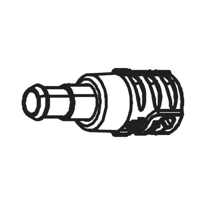 Conector rápido mangueras R0838100 limpiafondos Polaris Quattro Sport