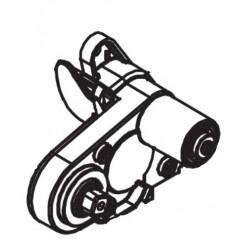 Soporte cepillo lateral derecho R0838400 limpiafondos Polaris Quattro Sport
