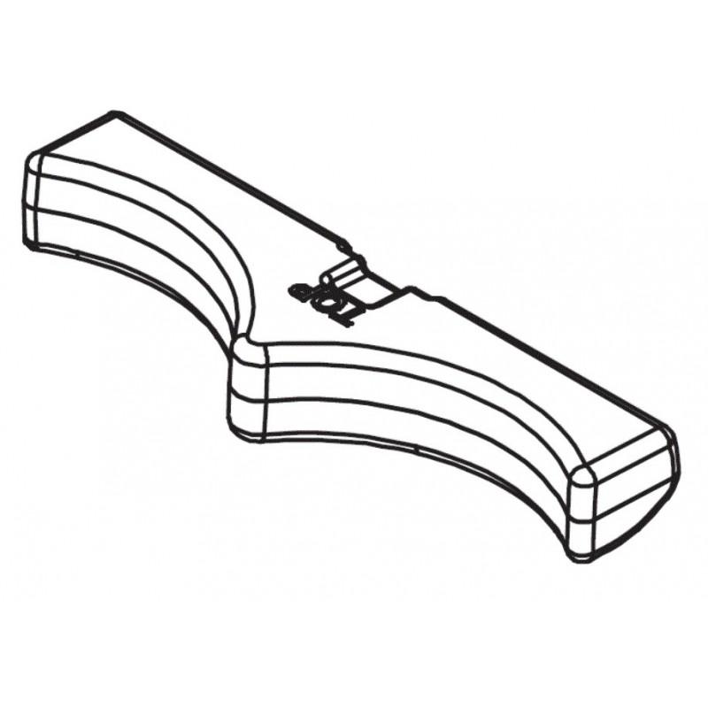 Flotador inferior R0841900 limpiafondos Polaris Quattro Sport