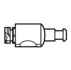 Conector de pared negro W7230330 limpiafondos Polaris Quattro Sport