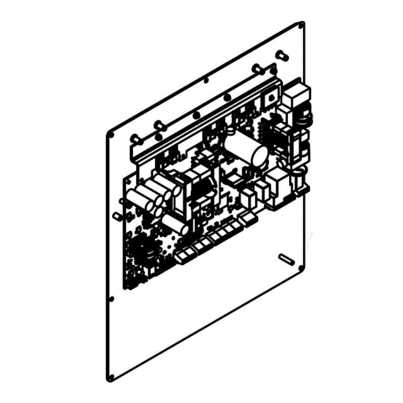Conjunto carta electrónica alimentación R0821800 Hydroxinator iQ MagnaPool Zodiac