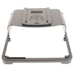 Capó plástico superior con sticker panel de control negro Zodiac TRI Expert
