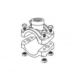 """Abrazadera DM 63 m completo (adaptable a 2"""" UK)  clorador salino Zodiac"""