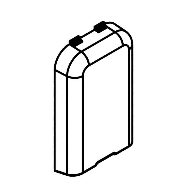 Tapa transparente bomba de pH R0825700 pH Link / Dual Link Zodiac