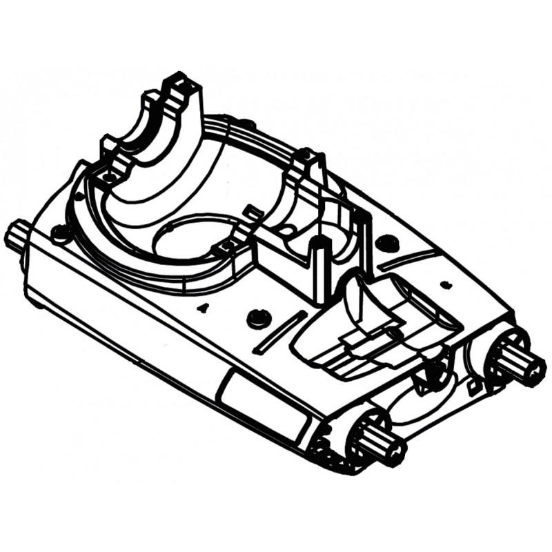 Chasis 30024100 limpiafondos Zodiac MX6