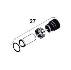 Racor PVC 3 Piezas Bomba Calor Power WWA01038