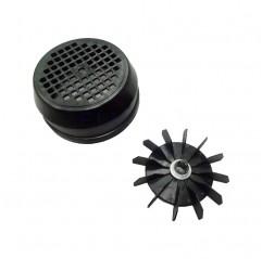 Conjunto ventilador-tapa 0,75 HP bomba Sena Astralpool 4405010147