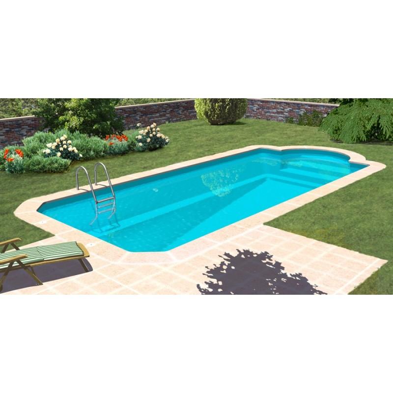 piscina de fibra poli ster ilusion
