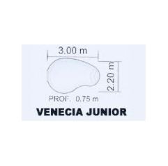 Piscina de Fibra Poliéster Venecia Junior