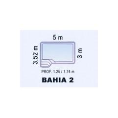 Piscina de Fibra Poliéster BAHIA 2