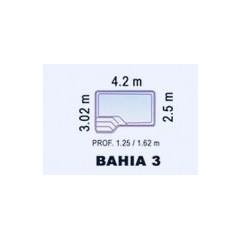 Piscina de Fibra Poliéster BAHIA 3