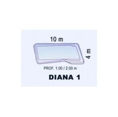 Piscina de Fibra Poliéster DIANA 1