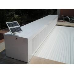 Banco protección de cubierta automática ROL para Piscinas