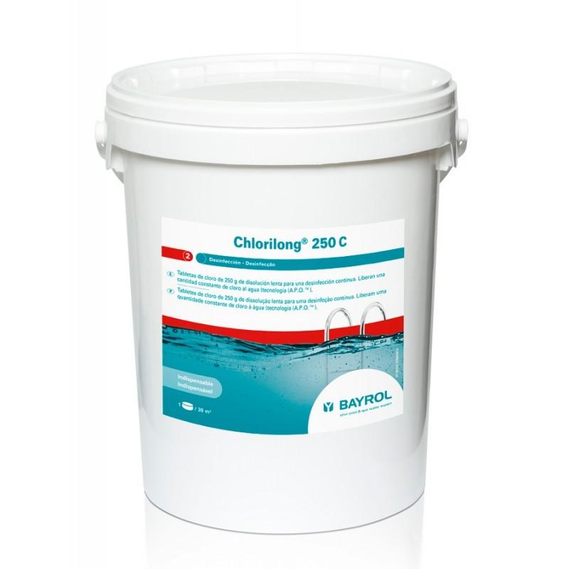 Cloro disolución lento Chlorilong 250 C (25kg)