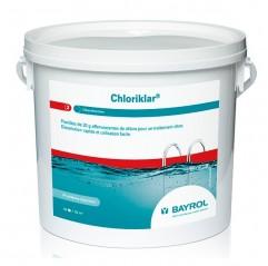 Cloro rápido en pastillas 20gr. Chloriklar (1kg - 5Kg) de Bayrol