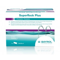 Floculante en cartuchos Superflock Plus 1Kg. de Bayrol