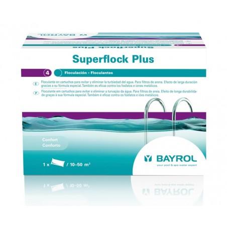 Floculante en cartuchos Superflock Plus 1Kg. de Bayrol