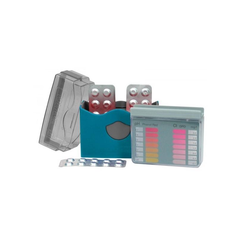 Analizador reactivos Pool Tester Cl/pH de Bayrol