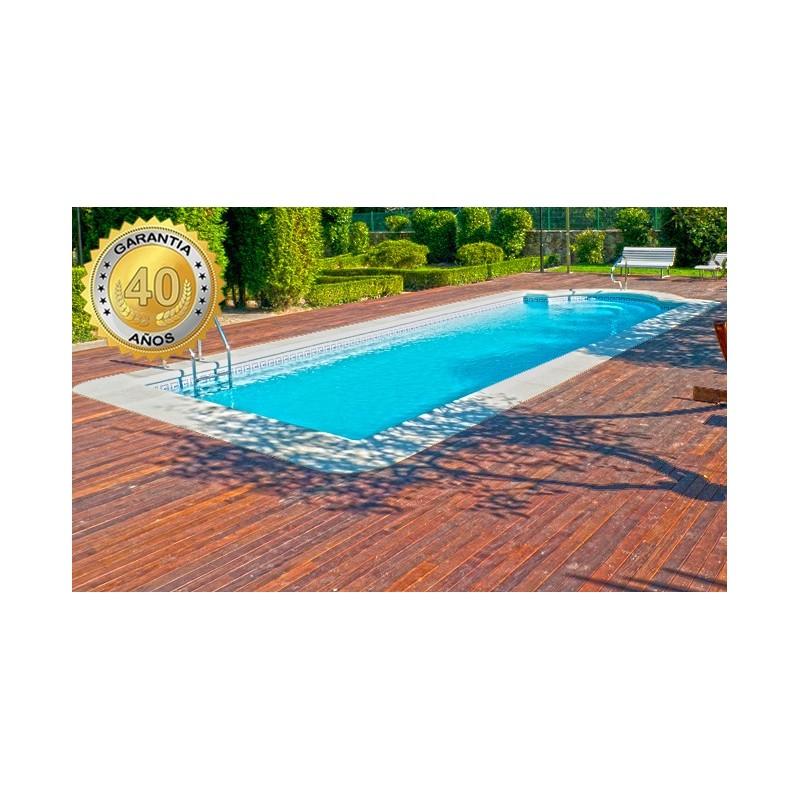 Comprar piscina de fibra poli ster nilo 100 for Multiforma piscinas