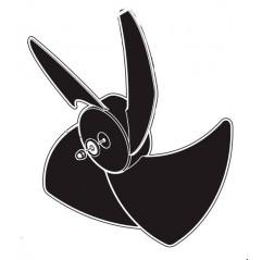 Hélice ventilador Zodiac Powerpac / Onepac / Power First / Z300 WTC03784