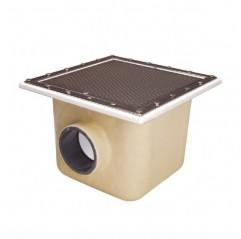 Sumidero de poliéster+fv 515x515 mm piscina liner y prefabricada