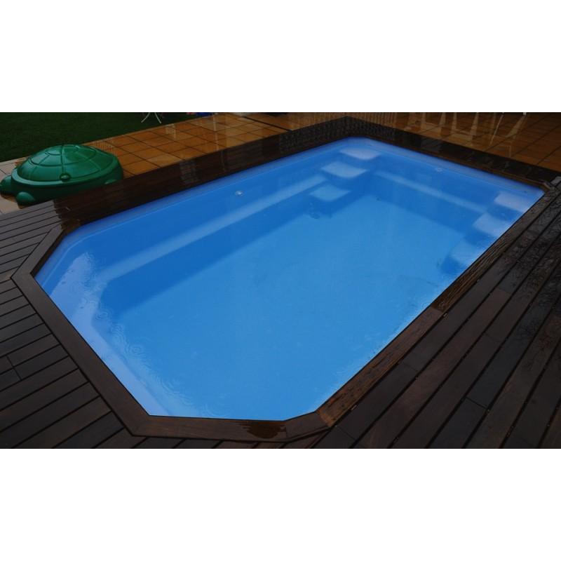 Piscina de Fibra Poliéster Micro Pool