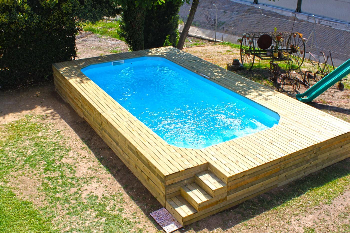 piscina de fibra polister maxi pool piscinas europa - Piscinas De Fibra