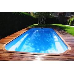 Piscina de Fibra Poliéster Maxi Pool