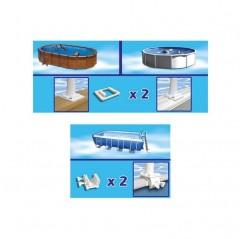 Enrollador piscinas elevadas Gre