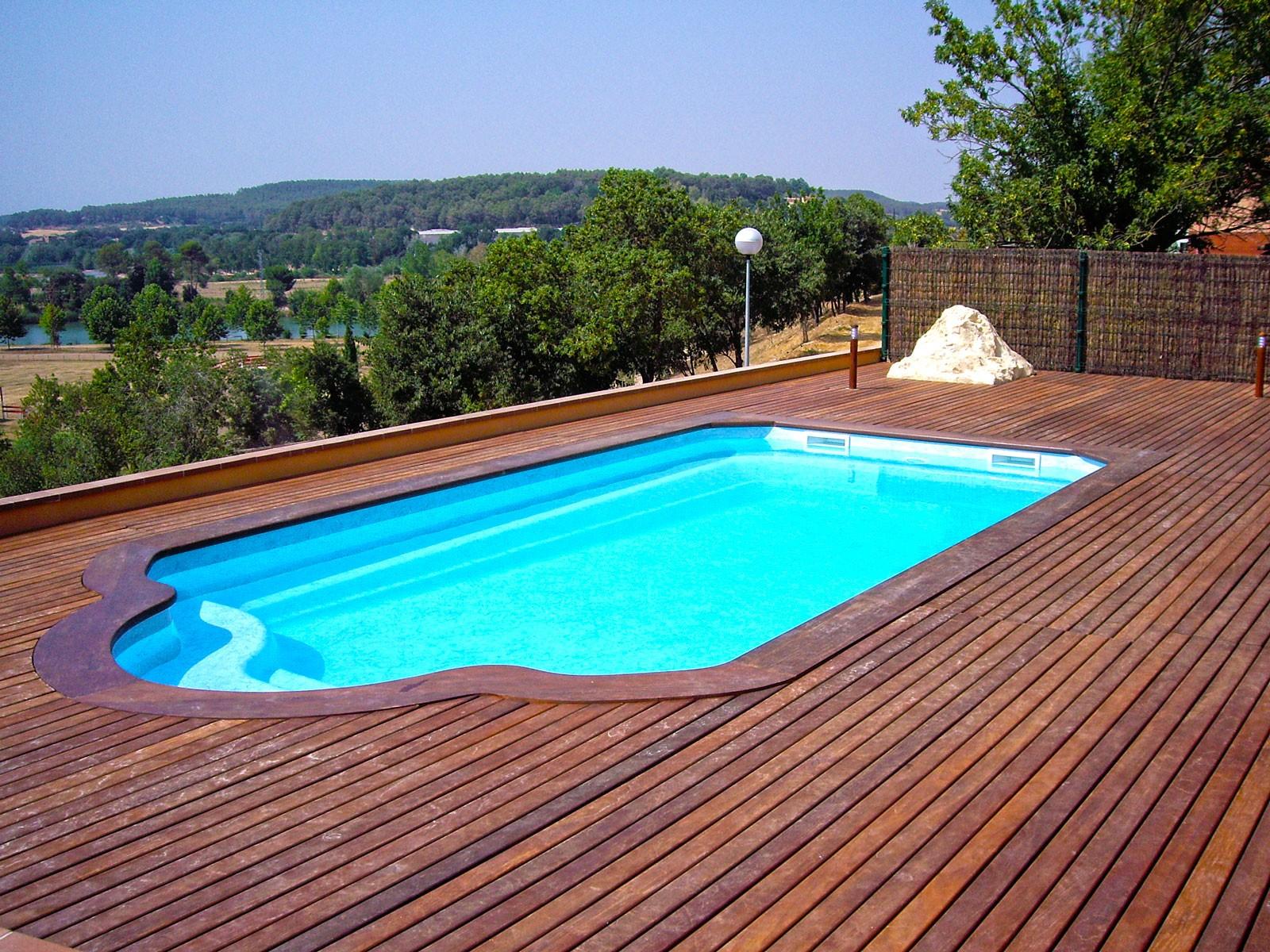 Modelo de piscinas fabulous modelo de piscina de fibra de for Modelos de piscinas campestres