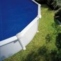 Cubierta de verano para piscina Gre en ocho