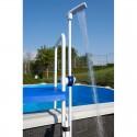 Ducha fijación a escalera piscina desmontable Gre DPE10